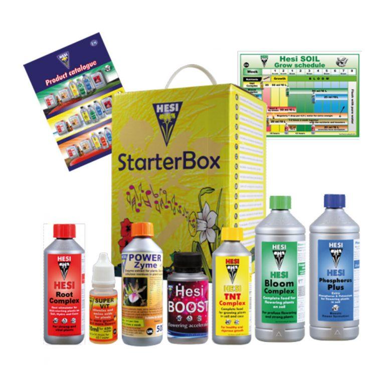 مجموعه کود Starterbox Soil برند HESI
